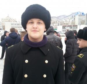 Никита Сёмин, курсант группы 501.12