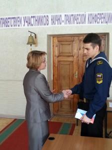 Главный приз получил курсант второго курса Рустам Боднарь