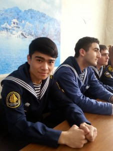 Курсант группы 501.22 Мухамед Хаджикулов