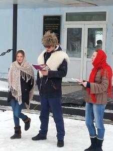 Глашатаи праздника объявили о том, что пора бы попрощаться с Зимушкой-Зимой