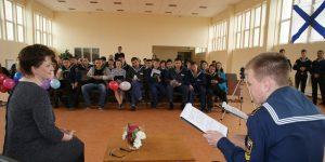 Интервью с директором Сахалинского высшего морского училища Любовью Захариной