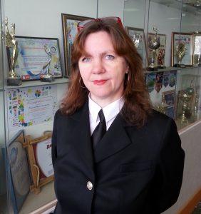 Заместитель директора по воспитательной работе Елена Вакуленко