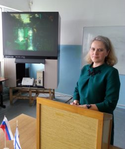 Начальник учебного отдела Татьяна Дудова