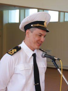 выпускник училища Владимир Ранцин