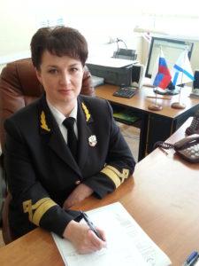 Директор Сахалинского высшего морского училища Любовь Захарина